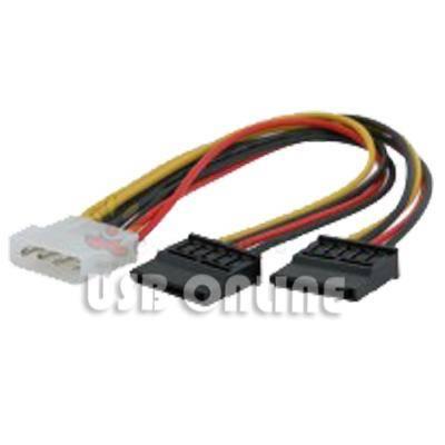 Serial SATA Power Adapter (2 in 1)