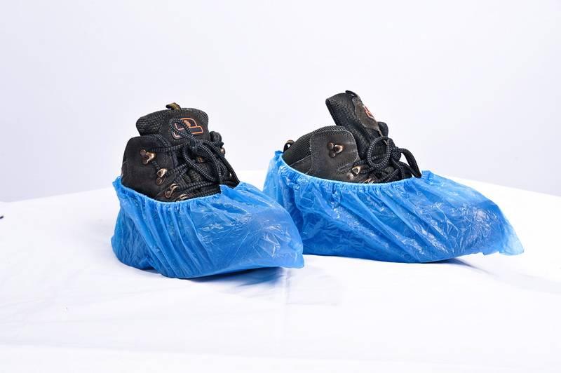 Wholesale Disposable PE Plastic Shoe Cover