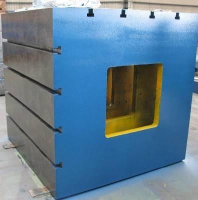 Inspection Parts Parallelism Verticality Square Shape Instrument Cast Iron Cube Box
