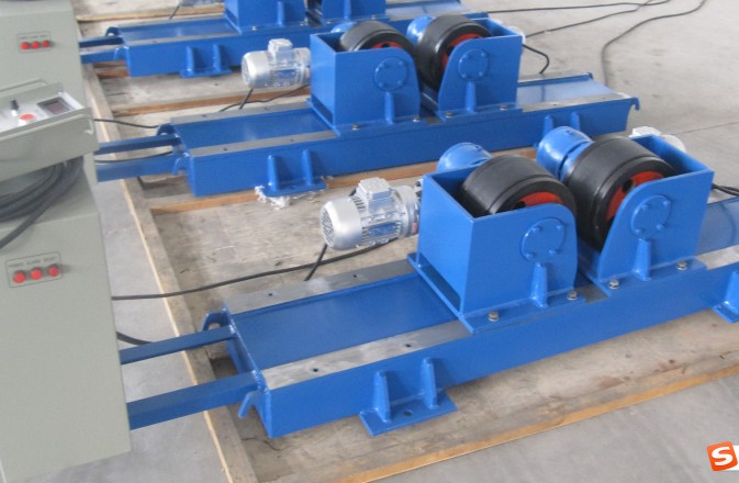 Conventional Tank Turning Rolls for Pipes Circle Seams