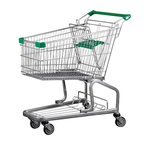 German Style Supermarket Shopping Trolley 100L