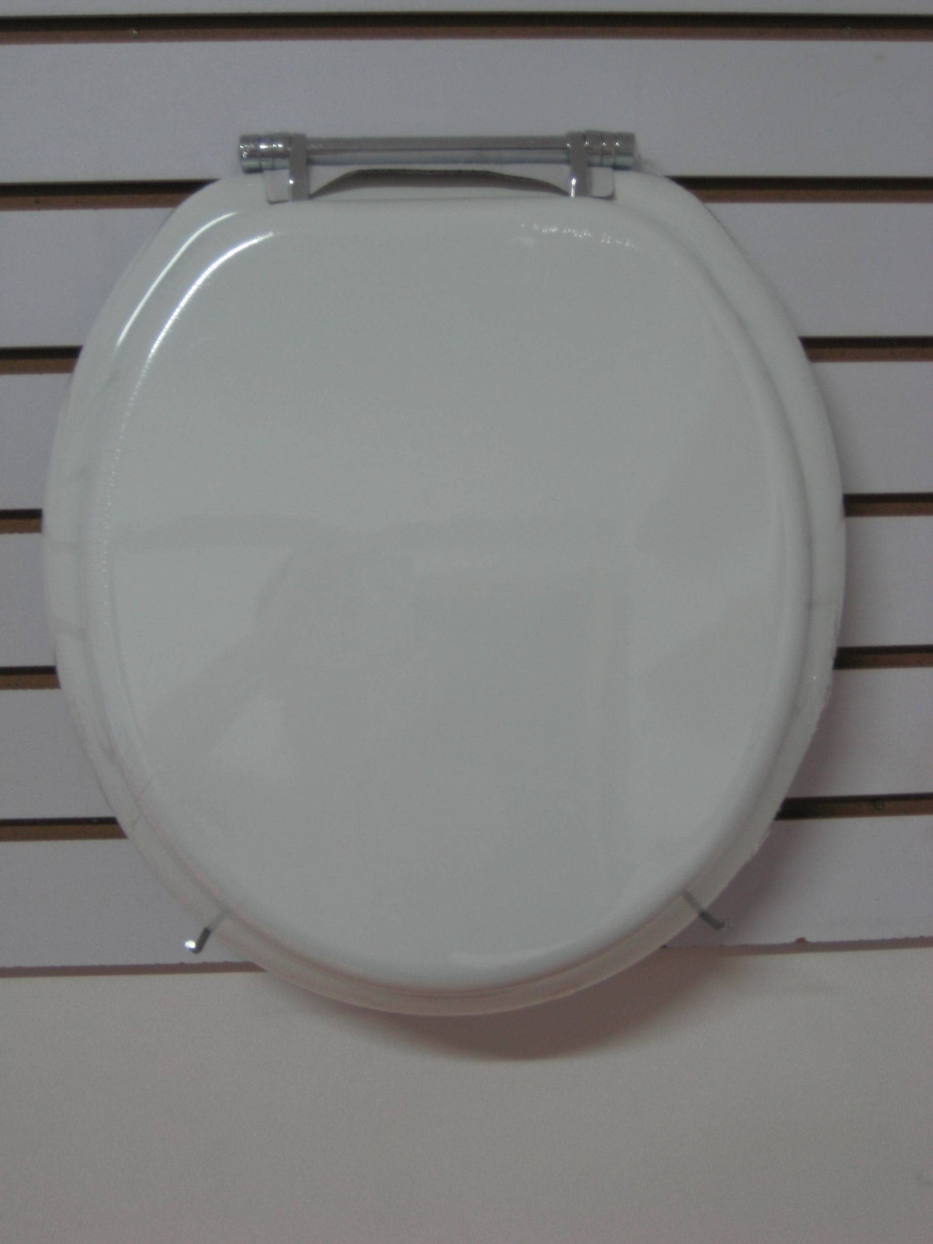 molded toilet seat cover