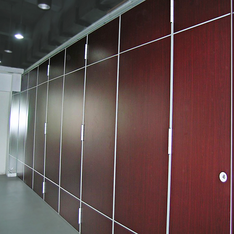 Folding Sliding Aluminium Track Roller Operable Partition Wall