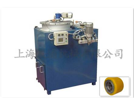 PU tyre tire wheel making casting machine