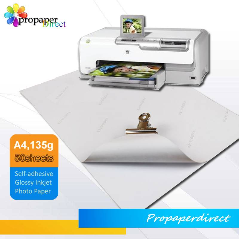 135g A4 inkjet photo sticker paper