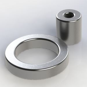 Magnetic Strong powerful cheap MOTOR neodymium RING shaped magnets