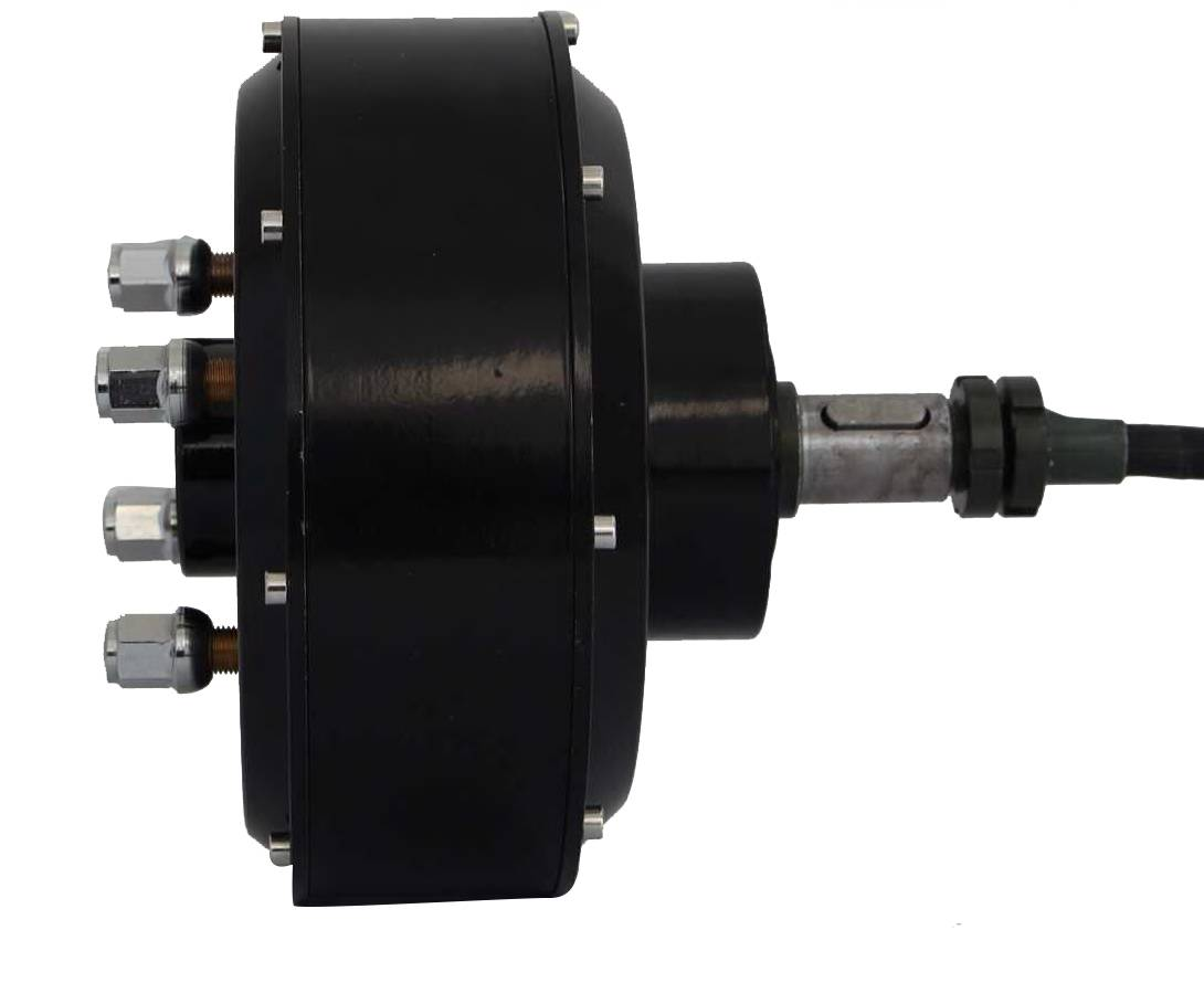 3000W 205 Single shaft Car Hub Motor