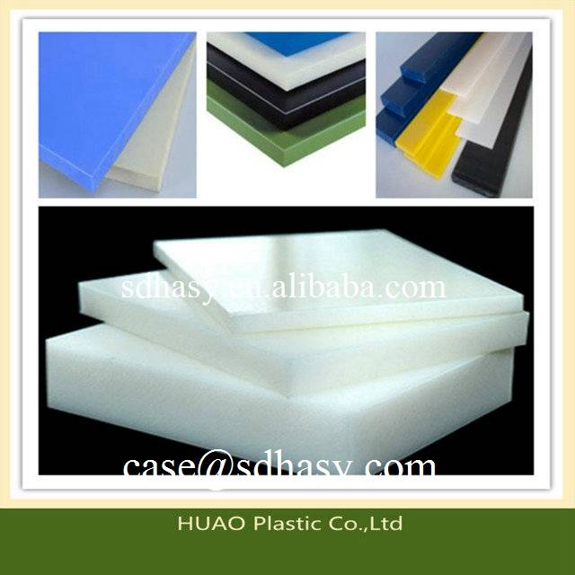 customized and durable HDPE plastic sheet / HDPE plastic board from China
