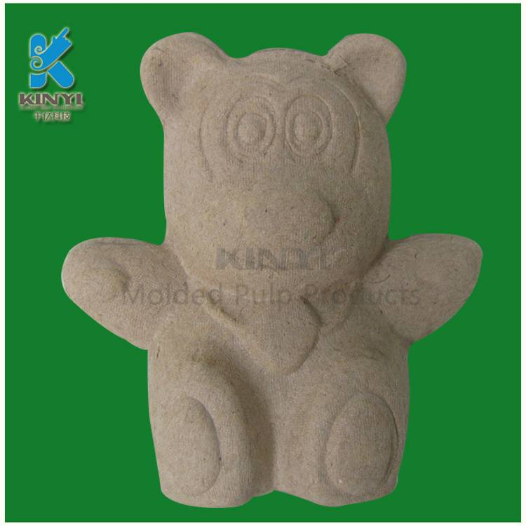 Healthy animals toys,DIY color for children, paper pulp molded