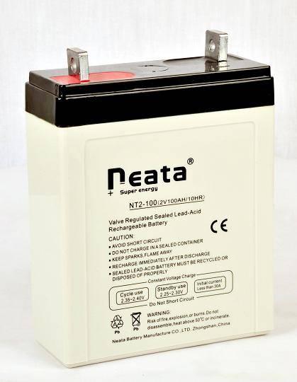Stationary battery 2V100Ah (ISO,CE,UL,ROHS,REACH)