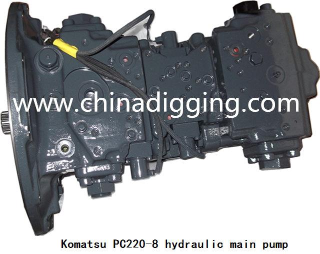 Komatsu PC220-8 hydraulic pump