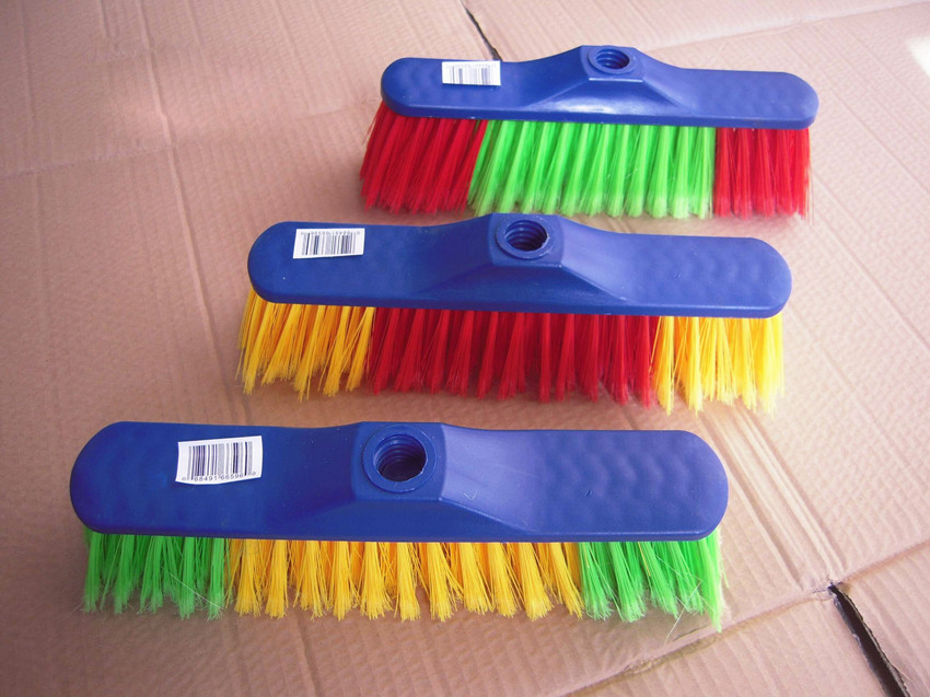 Plastic Broom Head with PP Hair