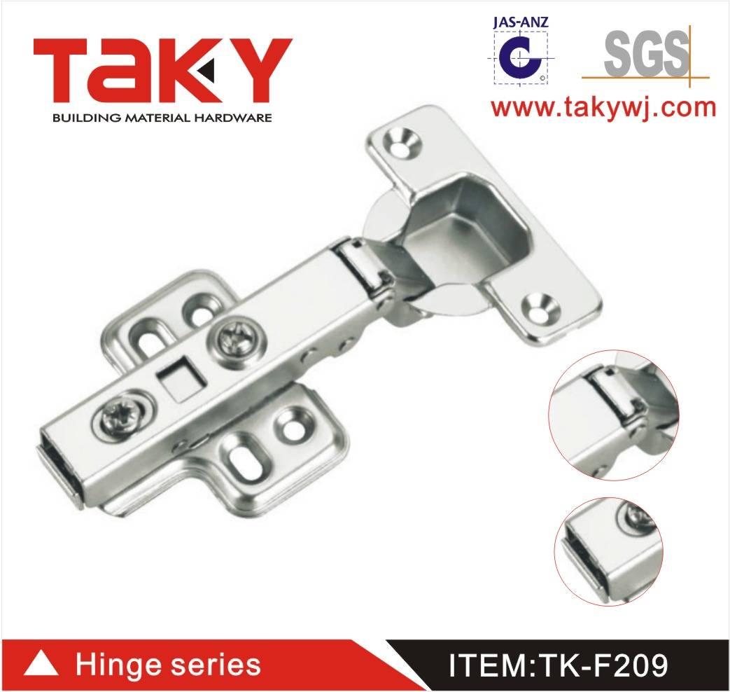 TK-F209 full overlay High quality Furniture hydraulic hinge