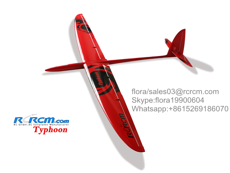 Typhoon hot rc composite glider