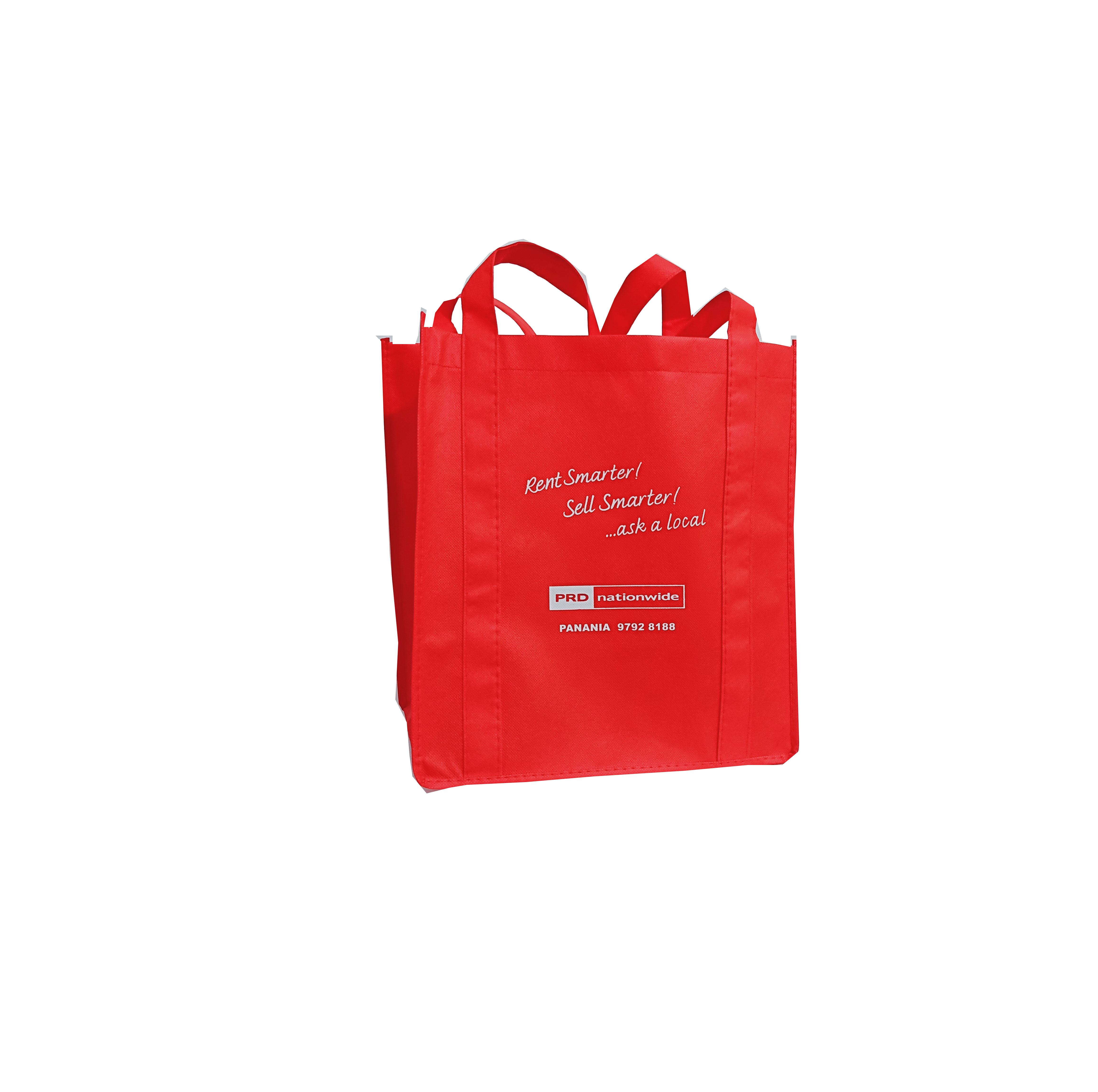 China personalized tradeshow reusable tote non woven pp bag Eco Printed Non woven bag For Storage Pr