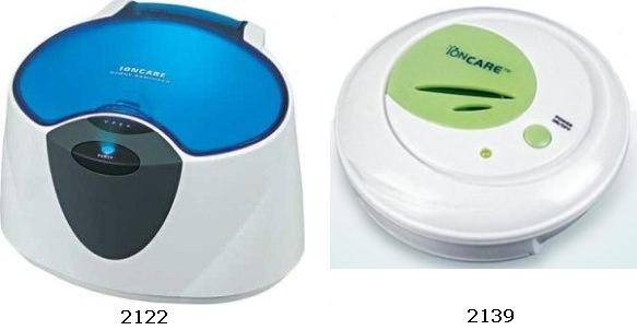 Ozone Sanitizer, Attachable Ionic Deodorizer and Freshener
