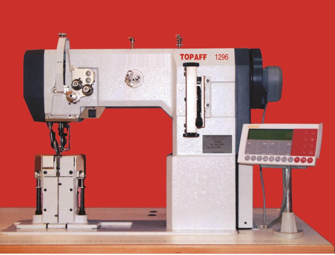 TOPAFF 1295 single needle post bed sewing machine