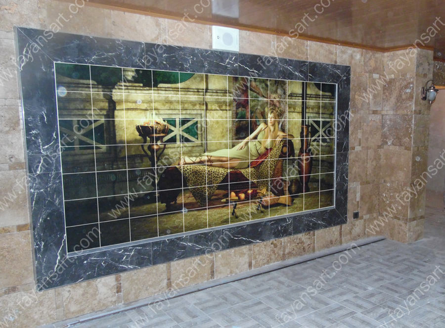 Custom Printed Ceramic Tile for Architectural Outdoor Spaces