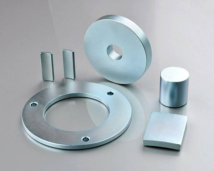 Zinc coating neodymium magnets