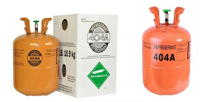 Refrigerant gas R404a with good quality