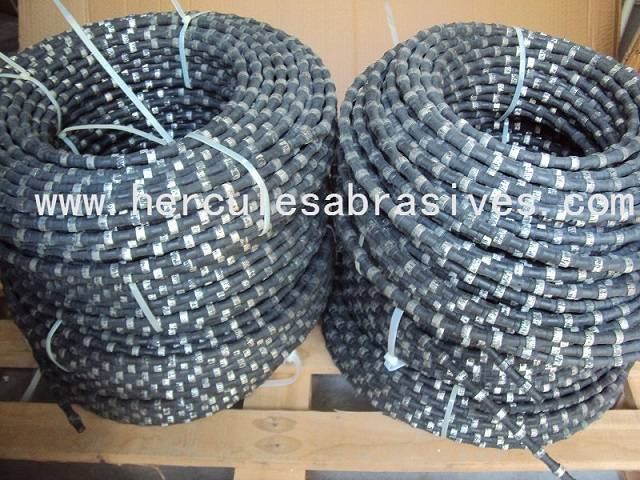 rubber wire saw for concrete cutting