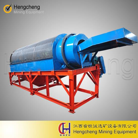 alluvial gold mining trommel screen gold washing plant