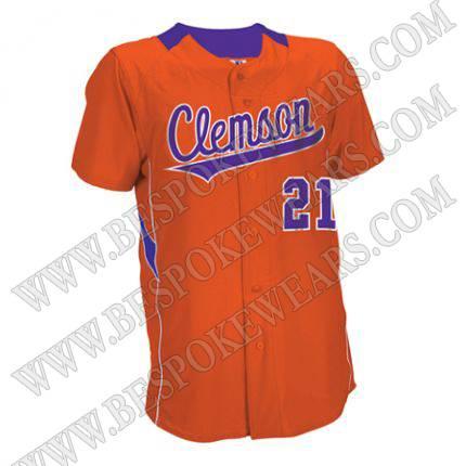high quality custom design sublimated baseball jerseys