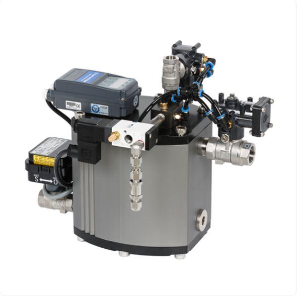 Drain master V - Auto drain trap with a motorized ball valve