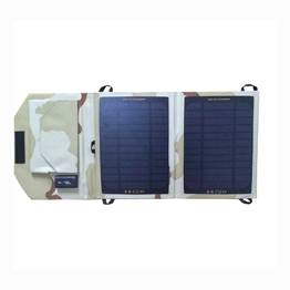 7W Small Solar Panel Cell Phone Charger Camping Use