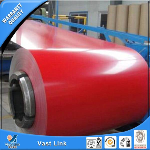 Prepainted steel coil for roofing