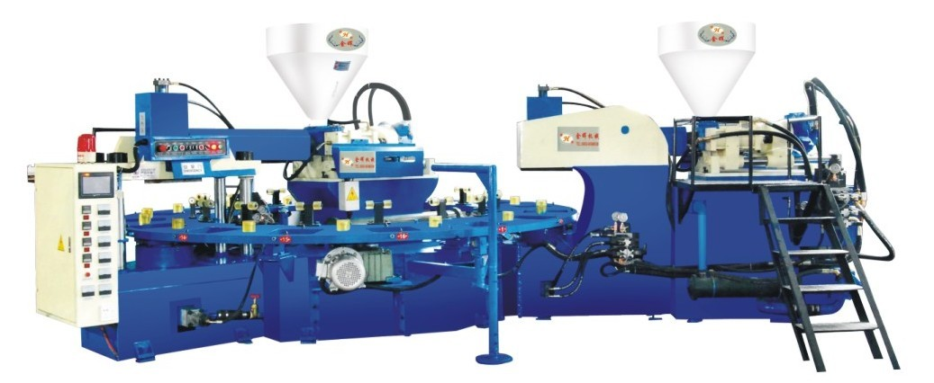 TPR Sole Two and Three Color Injection Molding Machine