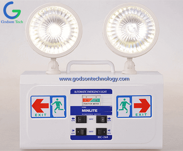 Wall-Mounted Emergency LED Light HC268
