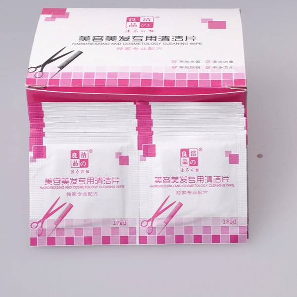 New Coming!Pass FDA CE Hairdressing And Cosmetology Cleaning Wipe