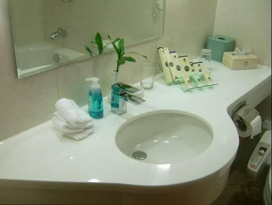 Chinese supplied nano crystal stone kitchen sinks