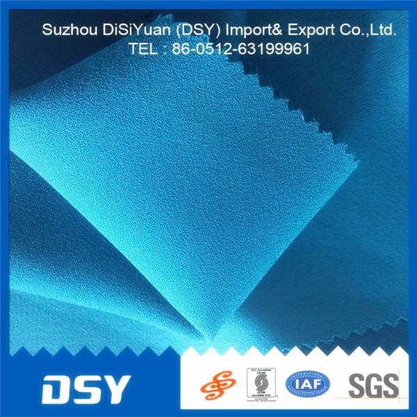 100% Polyester Double twill fabric from suzhou