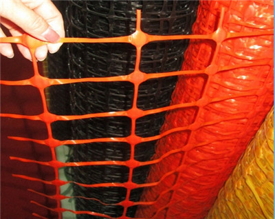 PE orange fence