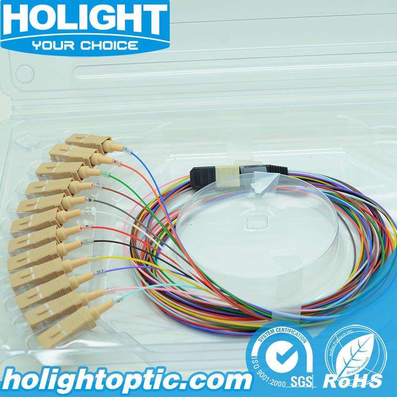 Fiber Optic Pigtail 12 Colors Sc Multimode