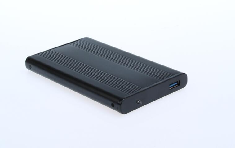 "HDD enclosure USB3.0 SATA case 2.5"" aluminum screw highspeed superspeed"