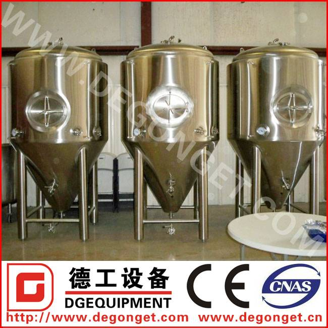 100-1000L sus304 stainless steel fermenters