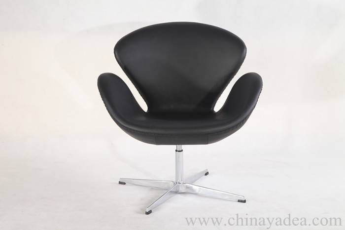 Aniline Leather Arne Jacobsen Swan Chair Replica manufacturer