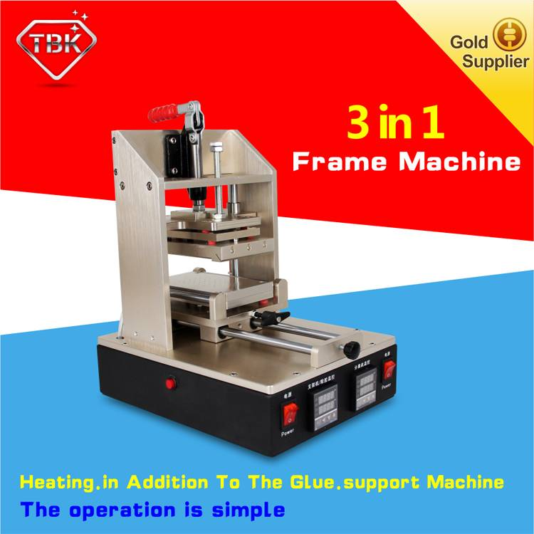 3 in 1 Frame Machine + Vacuum LCD Separator +LCD Glue Remover