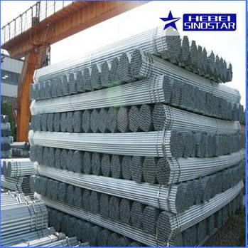Hot Dipped Galvanized Round Steel Pipe And Tubes