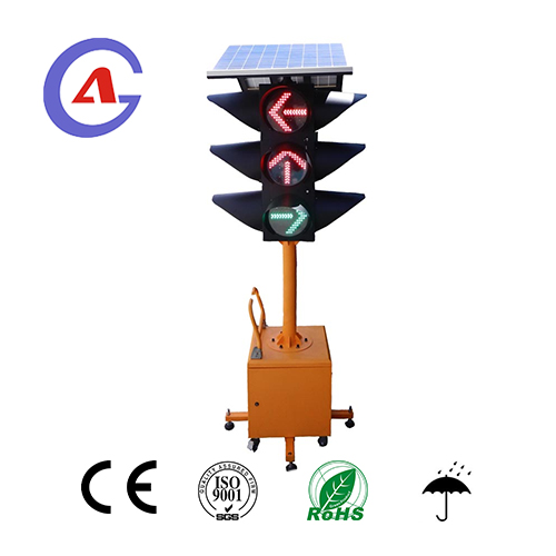 Mobile solar Led Traffic Light