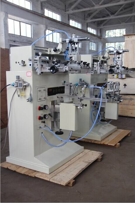 silkscreen printing machine for bottle