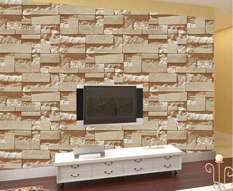 pvc vinyl brick wallpaper 3d wallpapers for home decoration design wallpaper for home hotel bar deco