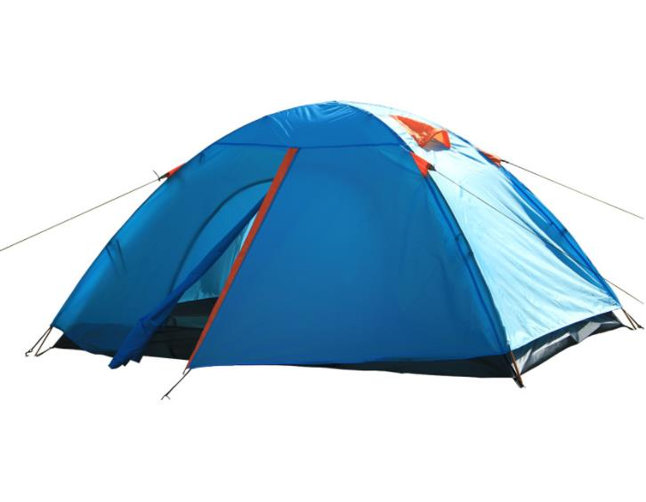 Double Layers Waterproof Camping Tents 2 Person High Quality Sun Protection