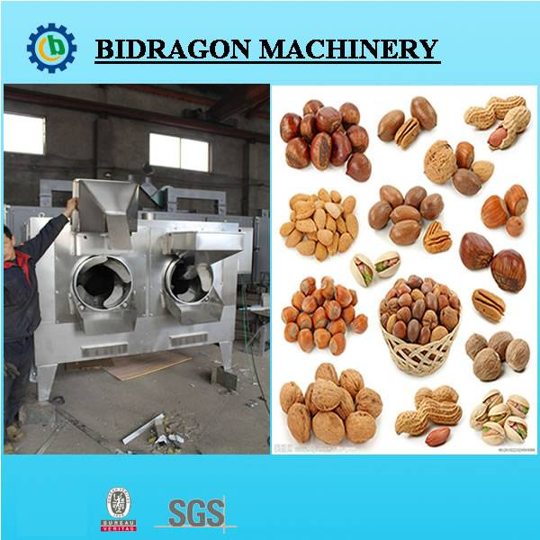Nut Roaster for Food and Industrial Use