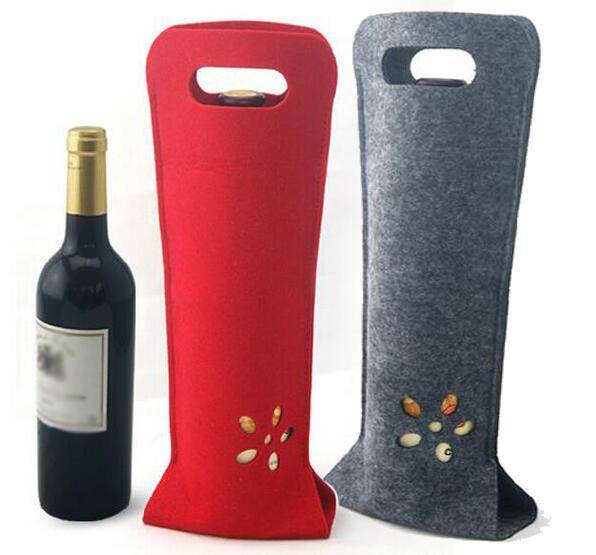 Fashion Colorful Portable Gift Bag made of Polyester Felt