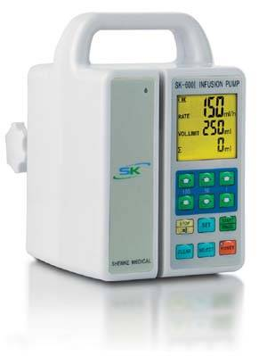 SK-600I Infusion Pump with CE Mark