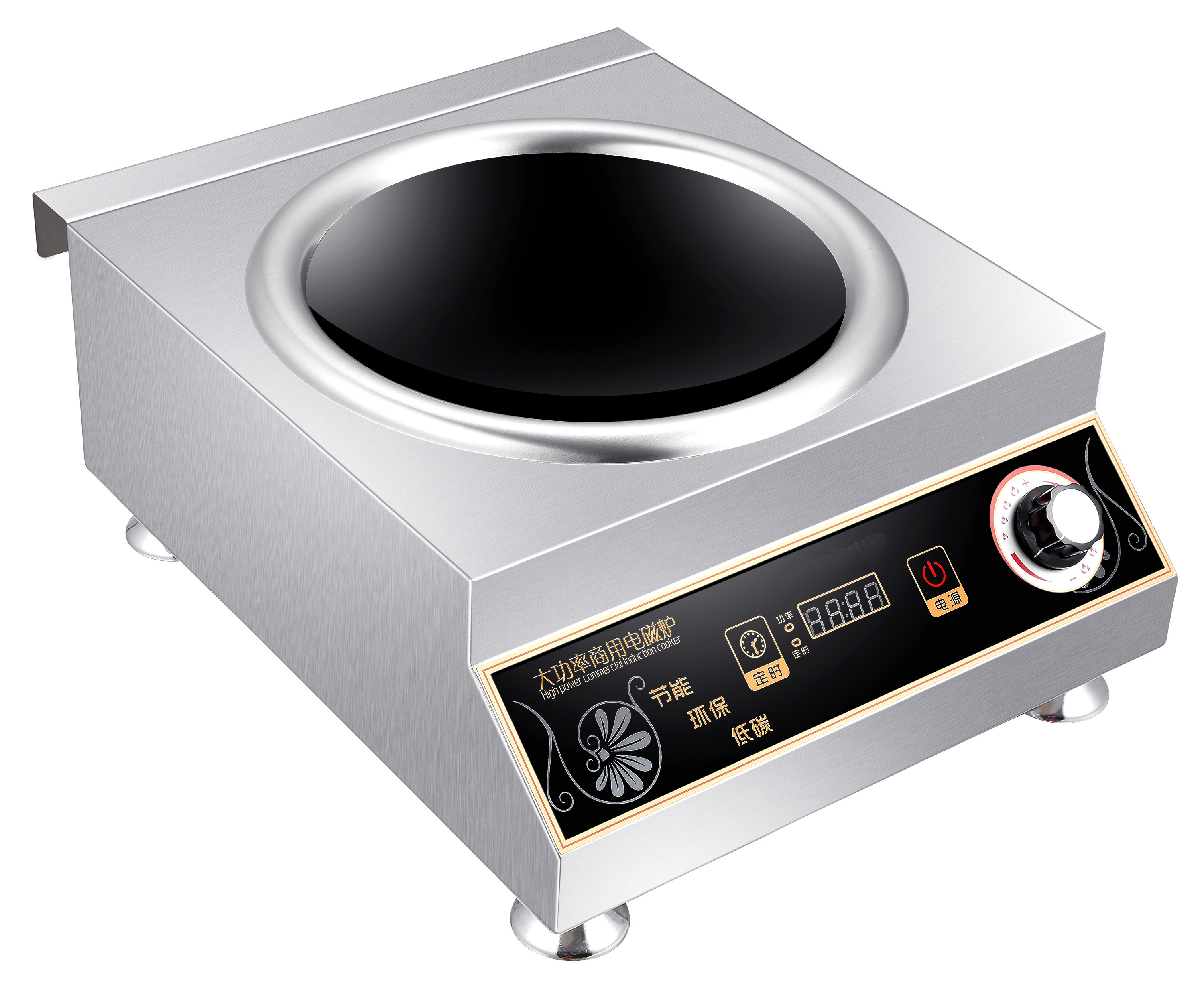 5000W high quality commercial induction cooker